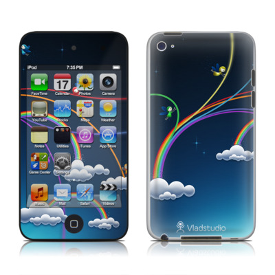 iPod Touch 4G Skin - Rainbows