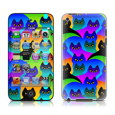iPod Touch 4G Skin - Rainbow Cats