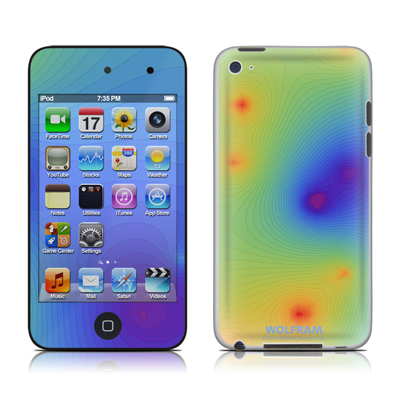 iPod Touch 4G Skin - Rainbow Contours