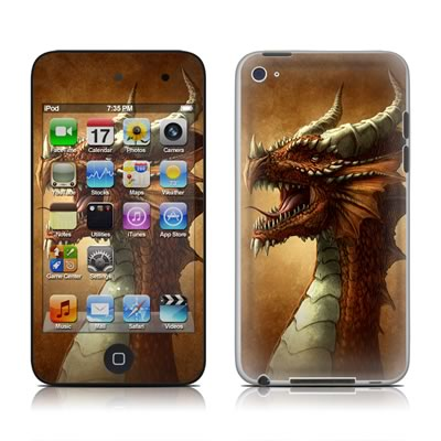 iPod Touch 4G Skin - Red Dragon