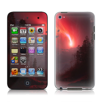 iPod Touch 4G Skin - Red Harbinger