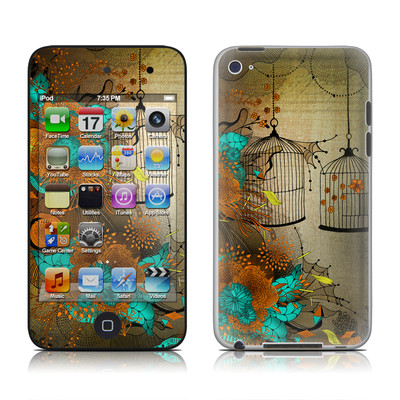 iPod Touch 4G Skin - Rusty Lace