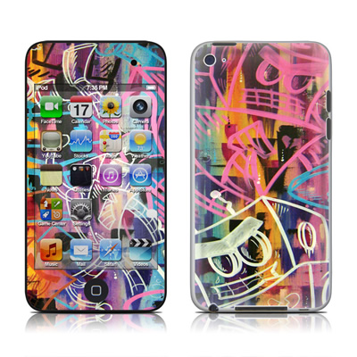 iPod Touch 4G Skin - Robot Roundup