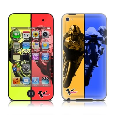 iPod Touch 4G Skin - Race Panels