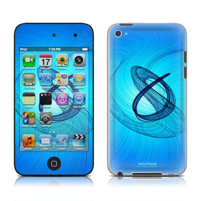 iPod Touch 4G Skin - Rotating Swirls