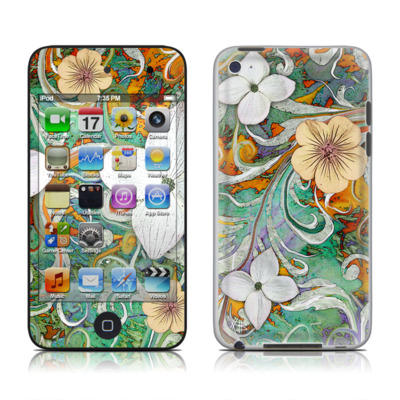 iPod Touch 4G Skin - Sangria Flora