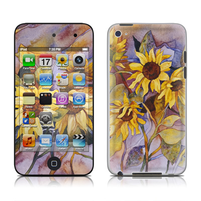 iPod Touch 4G Skin - Sunflower