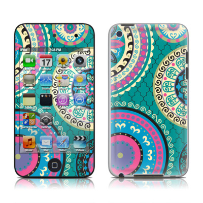iPod Touch 4G Skin - Silk Road