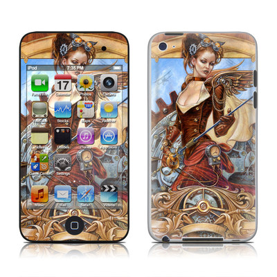 iPod Touch 4G Skin - Steam Jenny