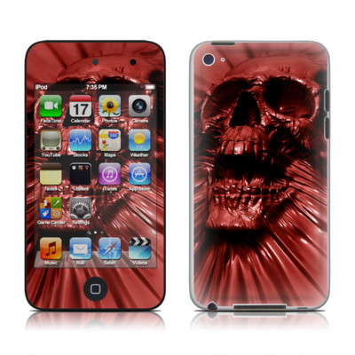 iPod Touch 4G Skin - Skull Blood