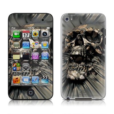 iPod Touch 4G Skin - Skull Wrap