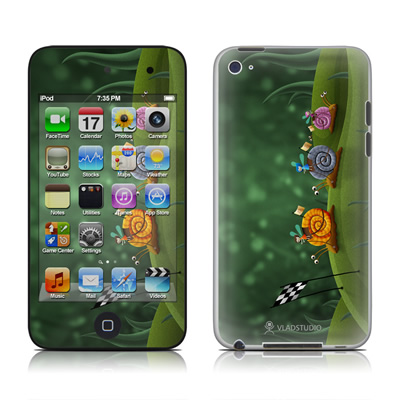 iPod Touch 4G Skin - Snail Race