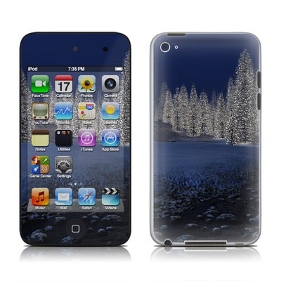 iPod Touch 4G Skin - Snowy Creek
