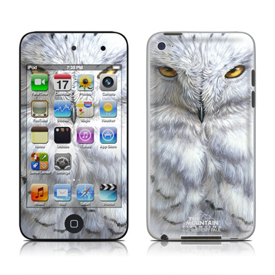 iPod Touch 4G Skin - Snowy Owl