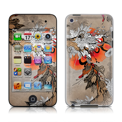 iPod Touch 4G Skin - Sonnet
