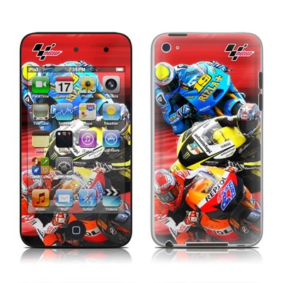 iPod Touch 4G Skin - Speed Collage