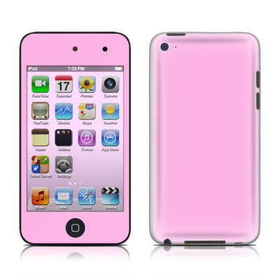 iPod Touch 4G Skin - Solid State Pink