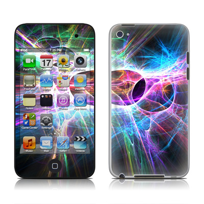 iPod Touch 4G Skin - Static Discharge
