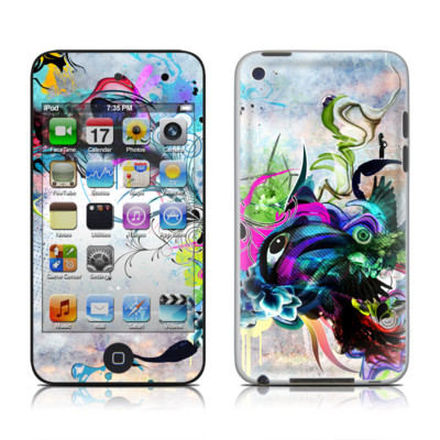 iPod Touch 4G Skin - Streaming Eye