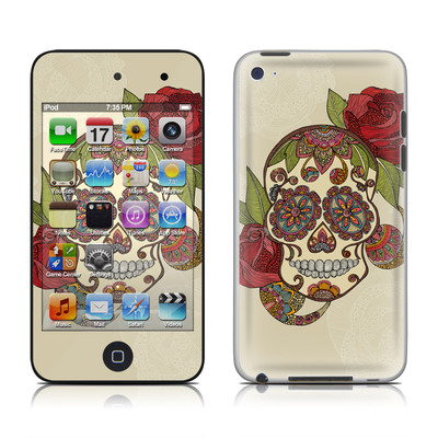 iPod Touch 4G Skin - Sugar Skull