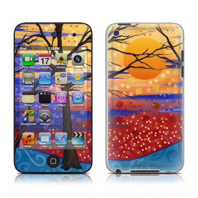 iPod Touch 4G Skin - Sunset Moon
