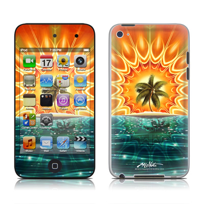 iPod Touch 4G Skin - Sundala Tropic