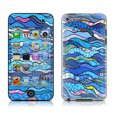 iPod Touch 4G Skin - The Blues