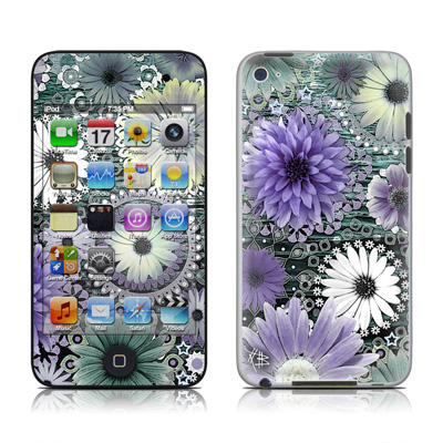 iPod Touch 4G Skin - Tidal Bloom