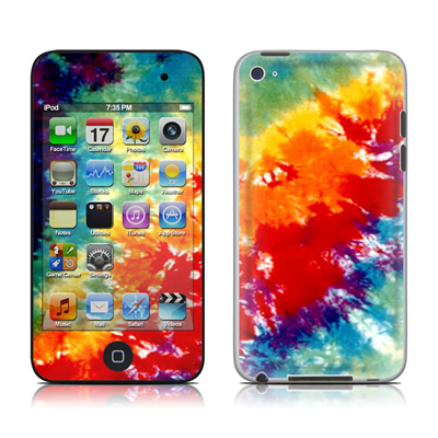 iPod Touch 4G Skin - Tie Dyed