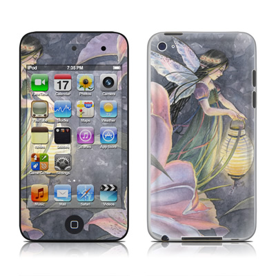 iPod Touch 4G Skin - Twilight Lilies