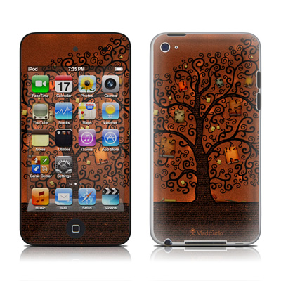iPod Touch 4G Skin - Tree Of Books