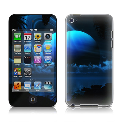 iPod Touch 4G Skin - Tropical Moon