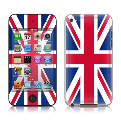 iPod Touch 4G Skin - Union Jack