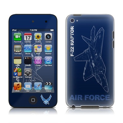 iPod Touch 4G Skin - F-22 Raptor