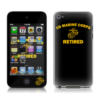 iPod Touch 4G Skin - USMC Retired