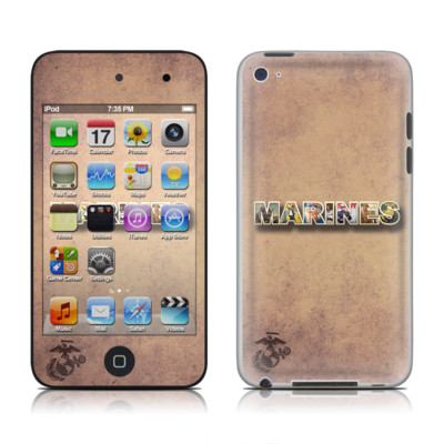 iPod Touch 4G Skin - Vintage Poster