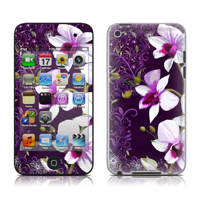 iPod Touch 4G Skin - Violet Worlds