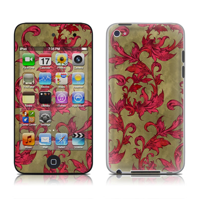 iPod Touch 4G Skin - Vintage Scarlet