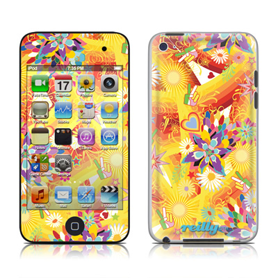 iPod Touch 4G Skin - Wall Flower