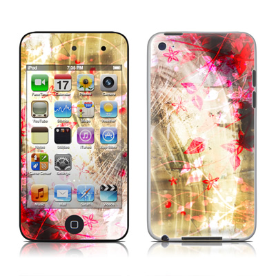 iPod Touch 4G Skin - Woodflower