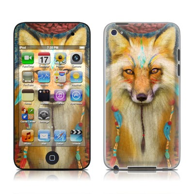 iPod Touch 4G Skin - Wise Fox