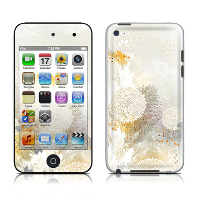 iPod Touch 4G Skin - White Velvet