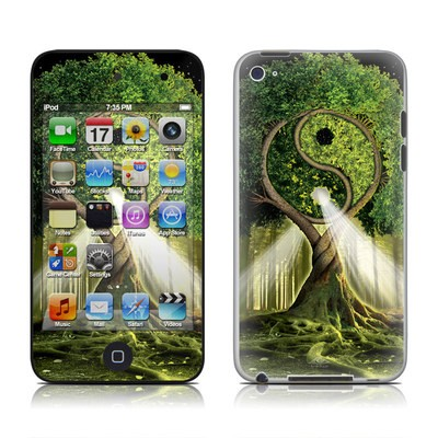 iPod Touch 4G Skin - Yin Yang Tree