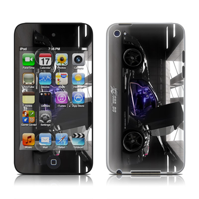 iPod Touch 4G Skin - Z33 Dark