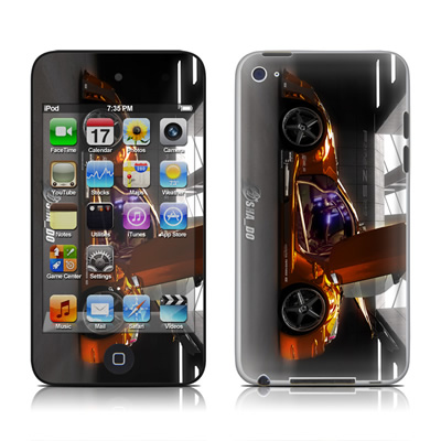 iPod Touch 4G Skin - Z33 Light