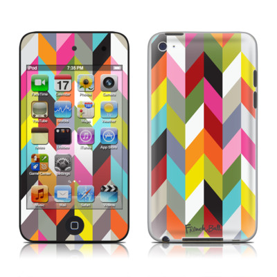 iPod Touch 4G Skin - Ziggy Condensed
