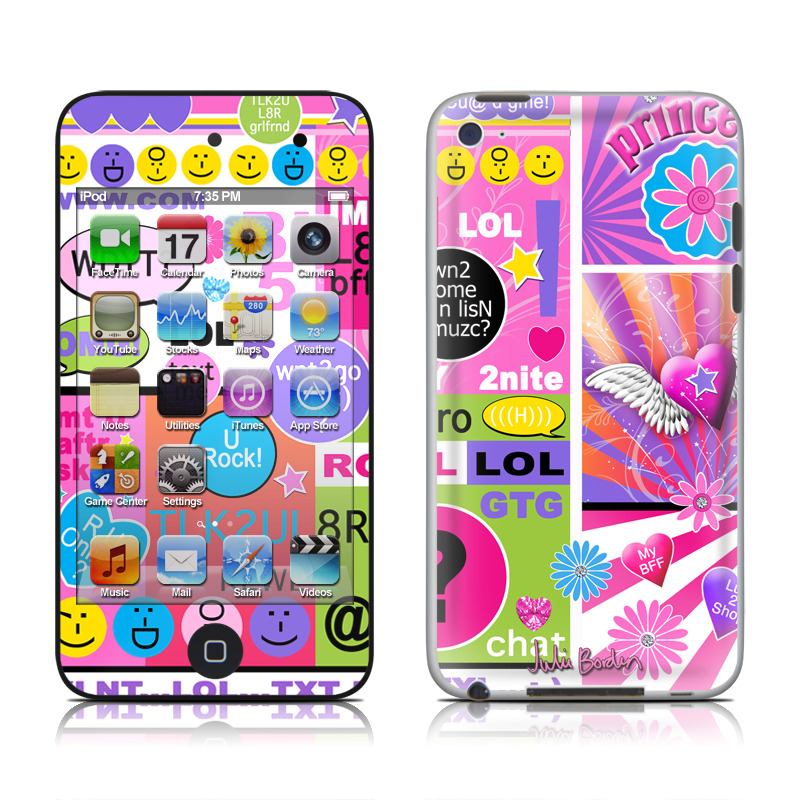 best sneakers d9385 2b3c5 iPod Touch 4G Skin - BFF Girl Talk