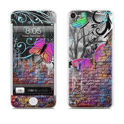 iPod Touch 5G Skin - Butterfly Wall