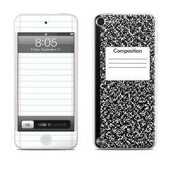 iPod Touch 5G Skin - Composition Notebook