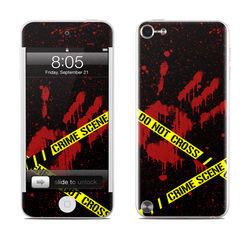 iPod Touch 5G Skin - Crime Scene